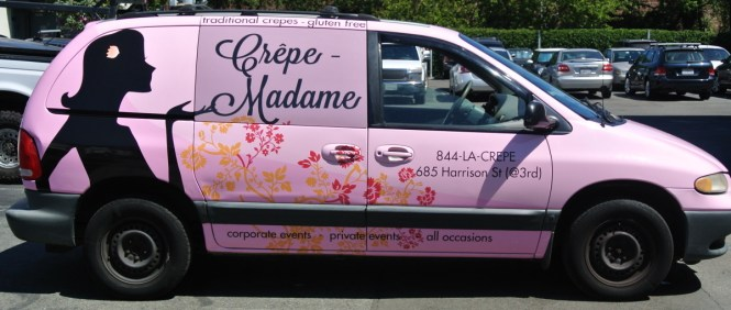 A custom vehicle wrap by Custom Vehicle Wraps