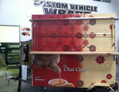 chai cart wrap