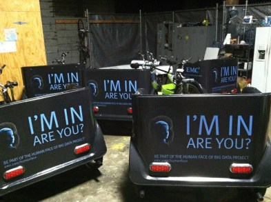 emc bike cart wrap