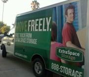 extraspace boxtruck wrap