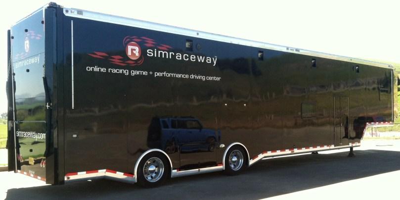 simraceway wrap reflection