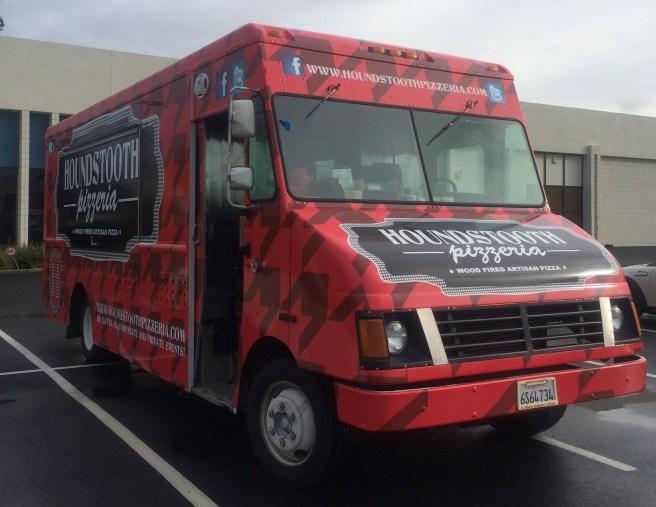 Houndstooth Food Truck Wrap Front