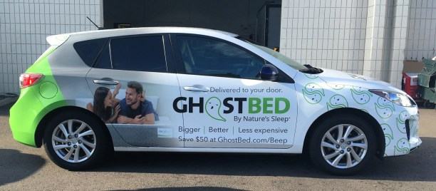ghostbed fleet wrap 14