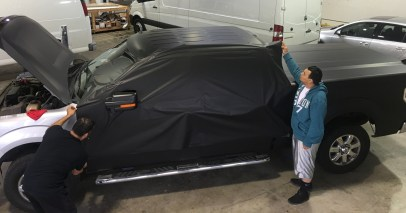 matte wrap f150 truck 12