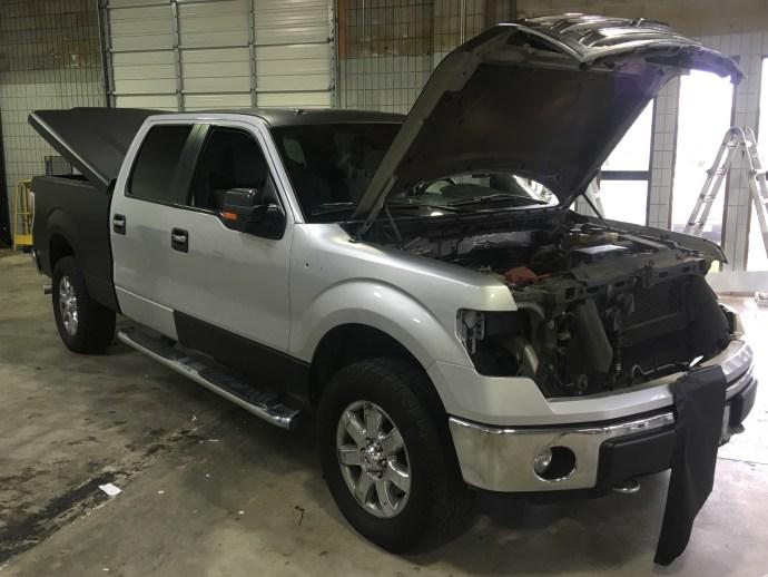 matte wrap f150 truck 6