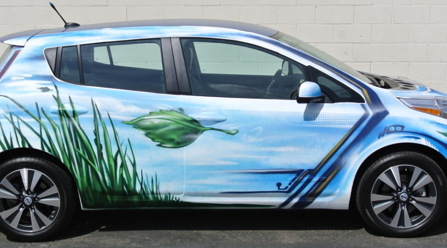 Vehicle Wrap Art by Griffin One