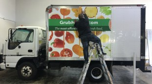 grubmarket truck wrapping
