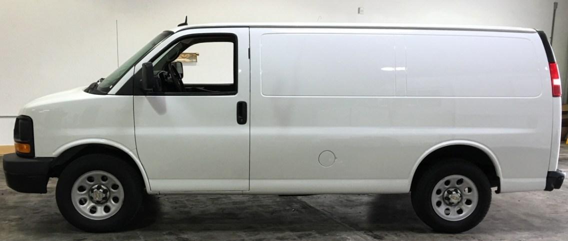 safetymax van wrap blank