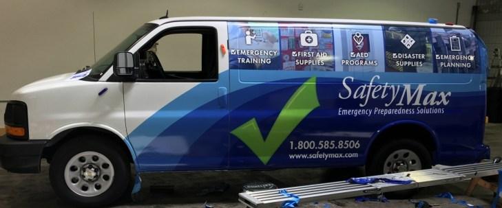 safetymax van wrap left