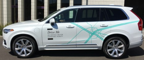 Car Wrap for Volvo's self-driving car