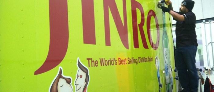 Jinro & Hite Box Truck Wraps
