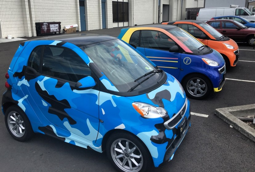 Smartcar Vehicle Wrap