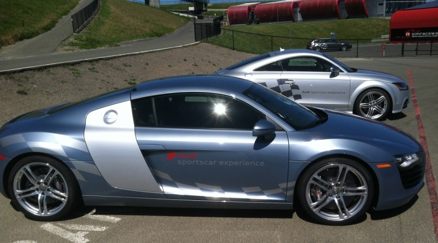 Vehicle Graphics for Audi Sportscar Experience Driving School