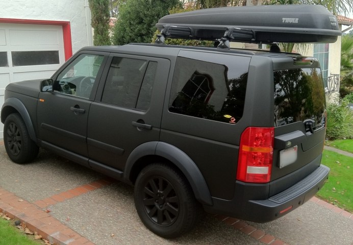land rover matte wrap5