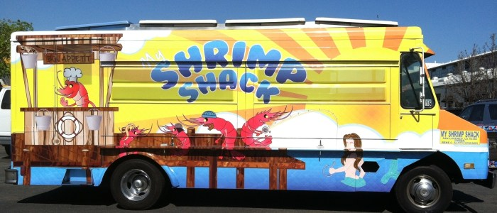 Shrimp Shack Food Truck Wrap
