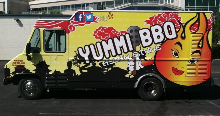 yummibbq food truck wrap4
