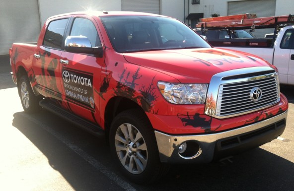 China Peak Truck Wrap Diag