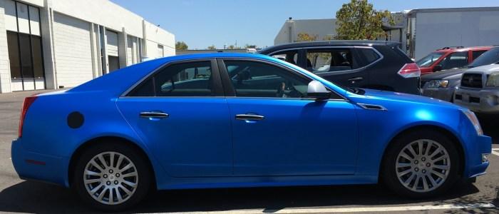 Blue Color Change Wrap