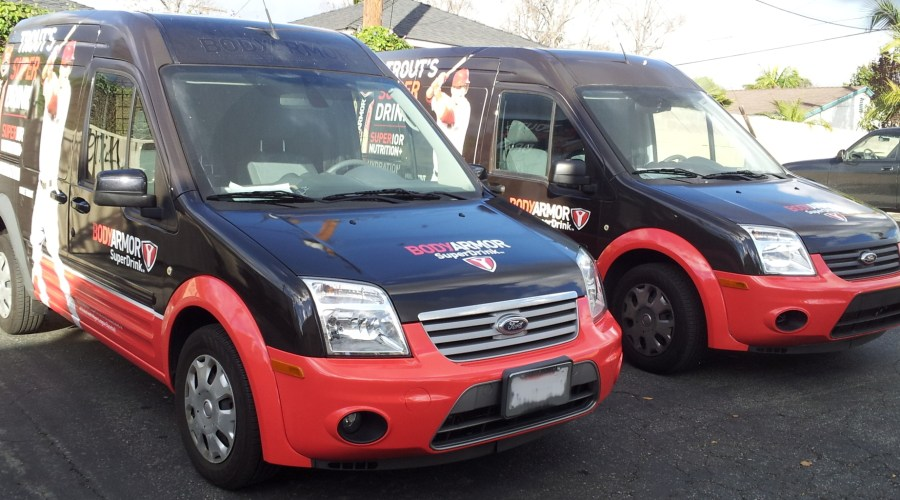 Van Wraps for BODYARMOR Superdrink