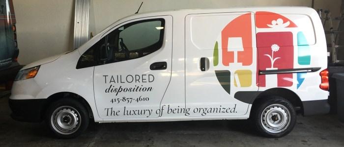 Tailored Disposition Van Wrap