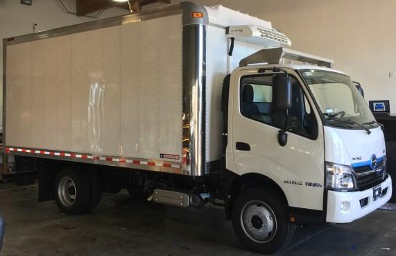 white box truck pre-wrap