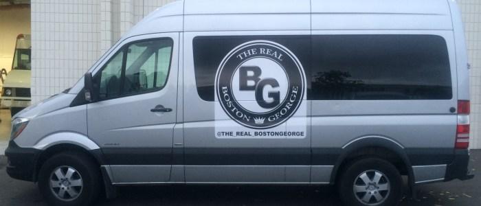 Van Wrap for Boston George