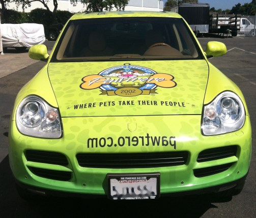 pawtrero car wrap