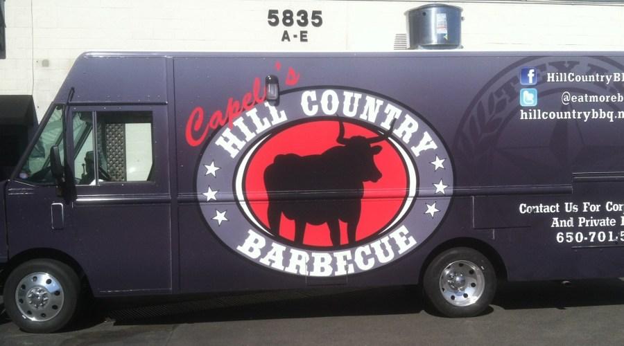 Capelo's BBQ Food Truck Wrap