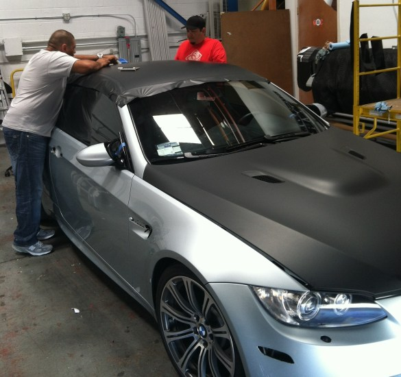 matte black bmw wrap-14