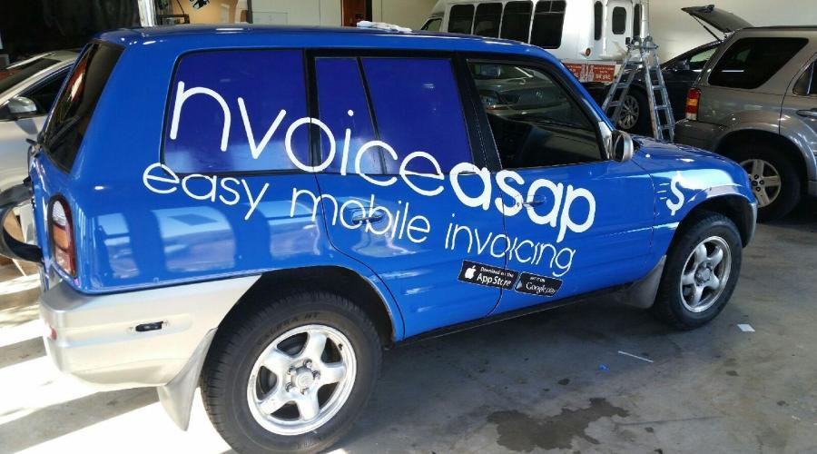 Invoice ASAP SUV Wrap