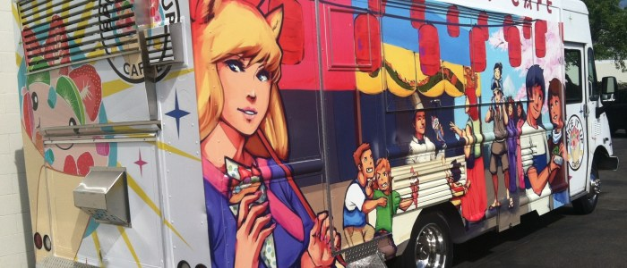 Spice It Up Cafe Food Truck Wrap