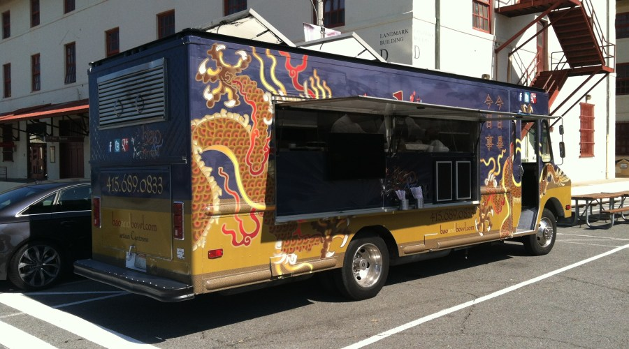 Food Truck Wrap for Bao Bowl