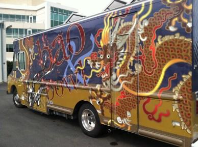 bao bowl food truck wrap