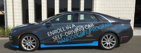 udacity car wrap left