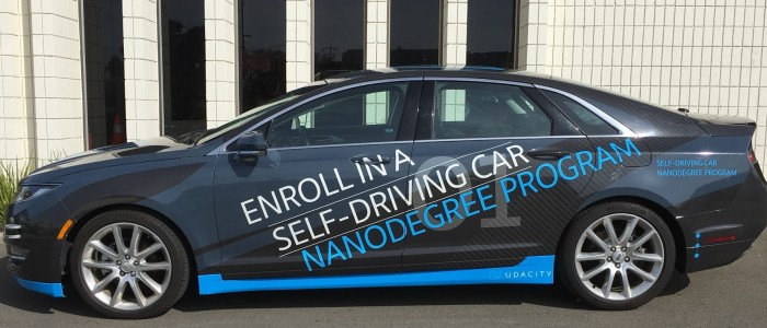 Car Wrap for Udacity Self Driving Lincoln