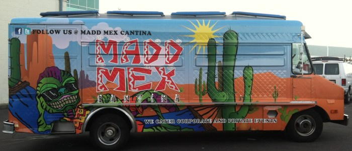 Food Truck Wrap for Madd Mex Cantina