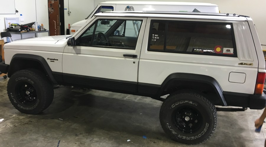 Color Change Wrap for Jeep Cherokee