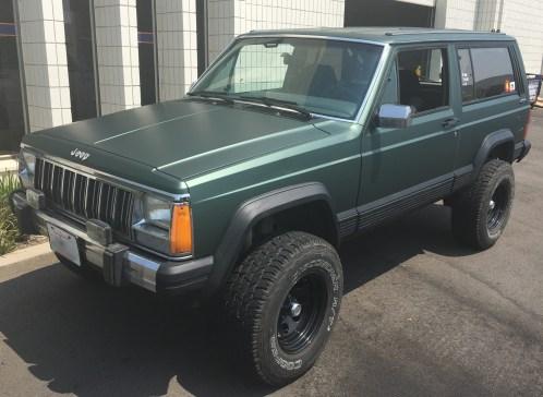 jeep cherokee color wrap