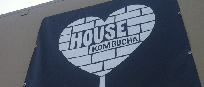 Large Signage for House Kombucha
