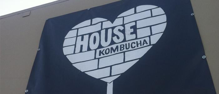 Large Signage for House Kombucha