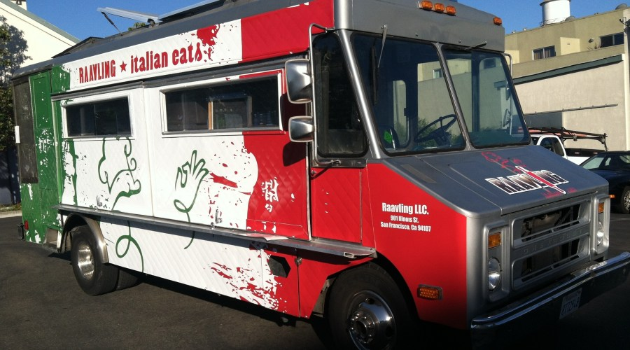 Raavling Food Truck Wrap