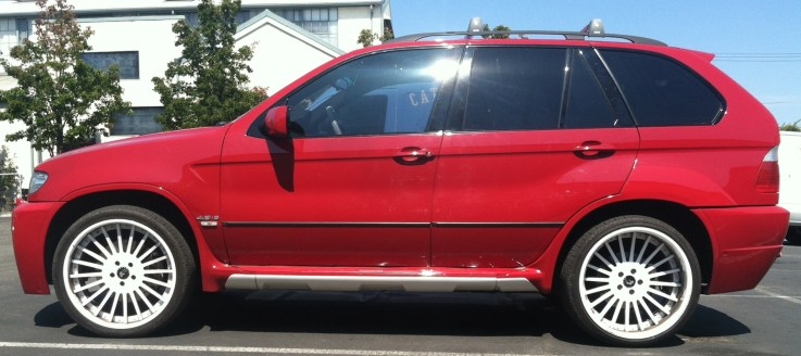 BMW Suv Color Change Wrap-01