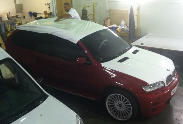 BMW Suv Color Change Wrap-08