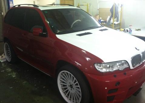 BMW Suv Color Change Wrap-12