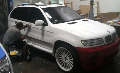 BMW Suv Color Change Wrap-16