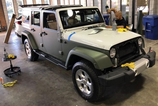 military green matte wrap jeep-07