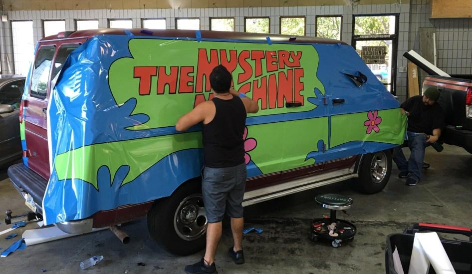 Car Vinyl Wrap Cost >> Mystery Machine Car Wrap – Custom Vehicle Wraps