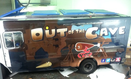 out of the cave food truck wrap-02