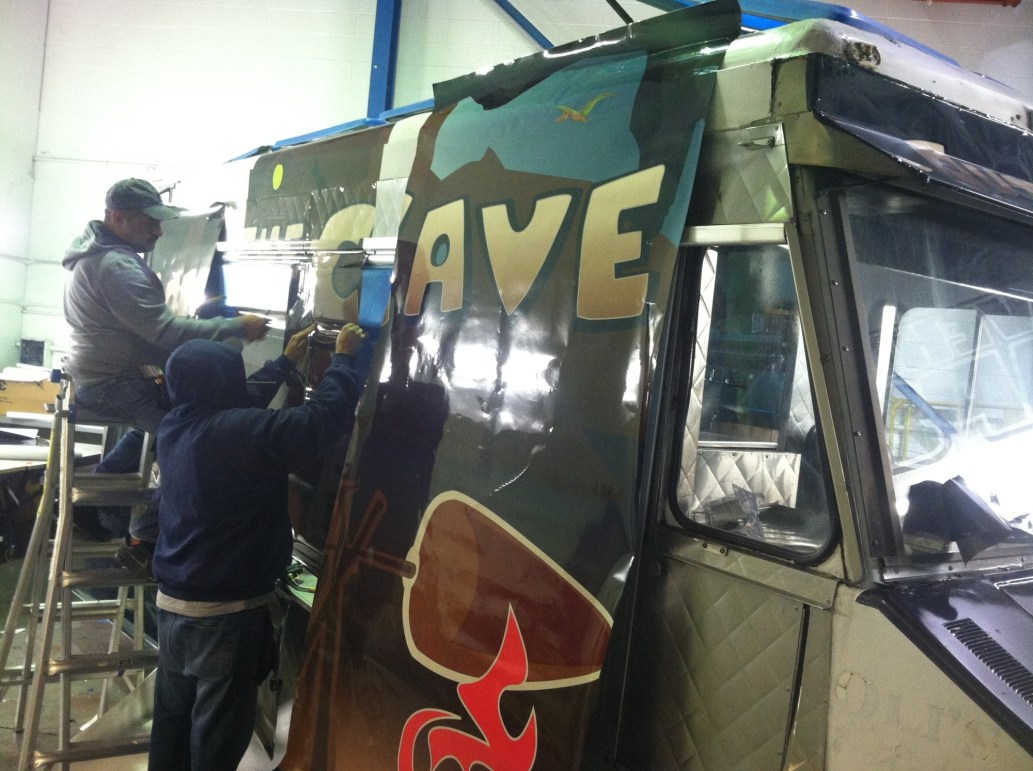 out of the cave food truck wrap-04