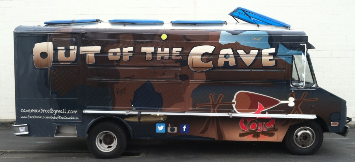 out of the cave food truck wrap-07